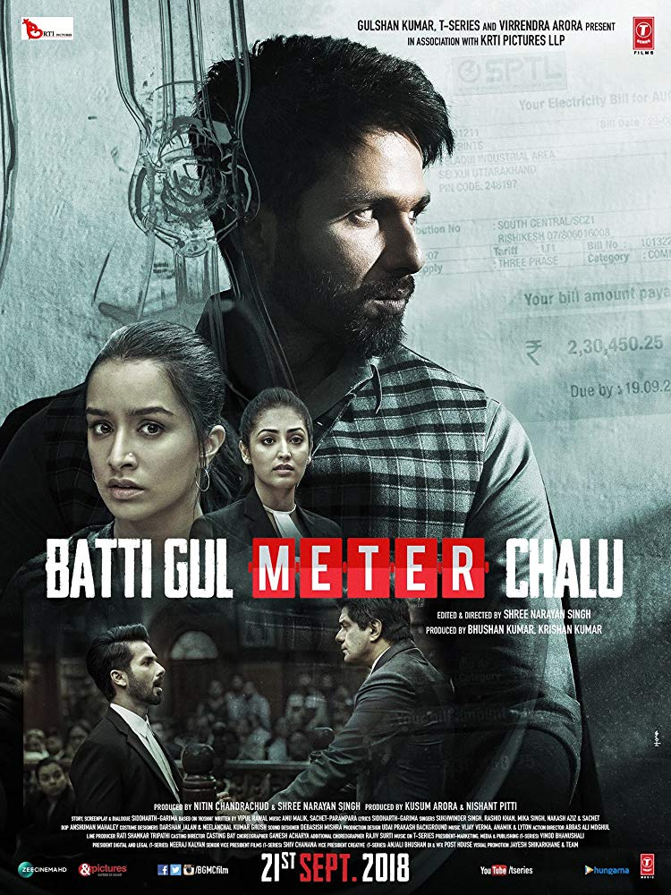 Batti Gul Meter Chalu 2018 Hindi 720p PreDvDRip x264 AAC - xRG