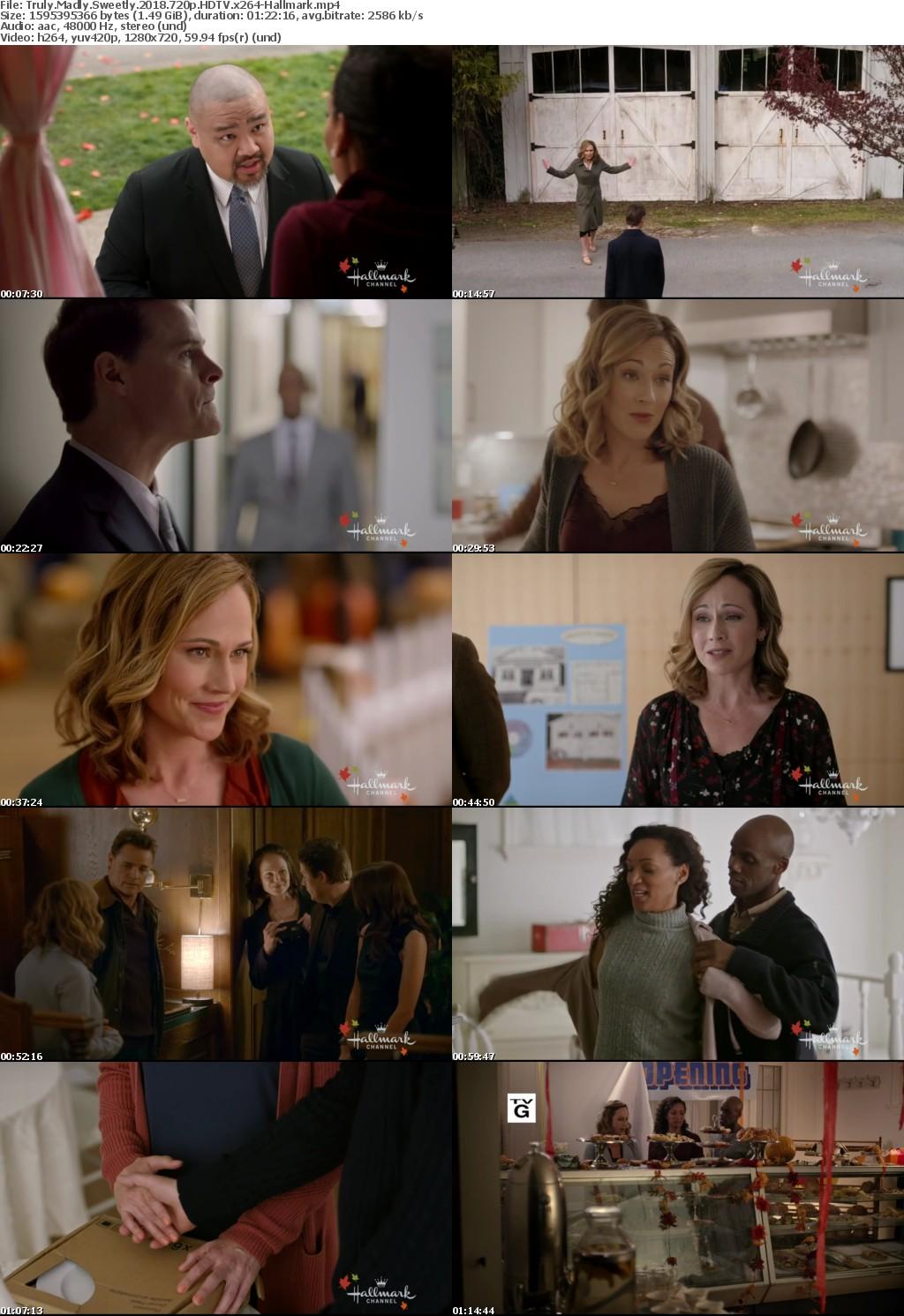 Truly Madly Sweetly (2018) 720p HDTV x264-Hallmark