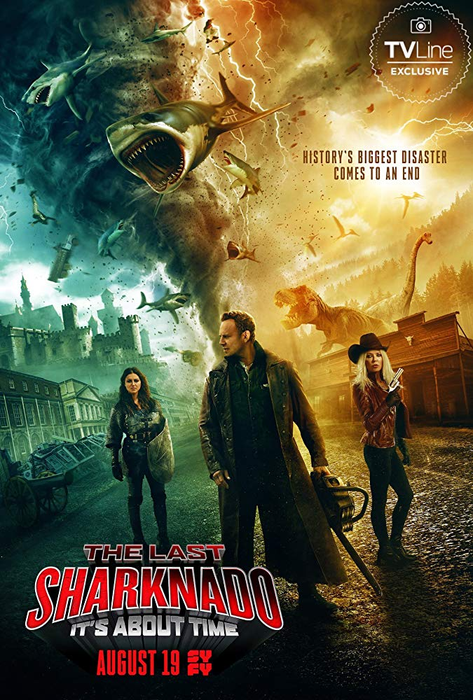 The Last Sharknado Its About Time (2018) 720p BluRay x264-GETiT