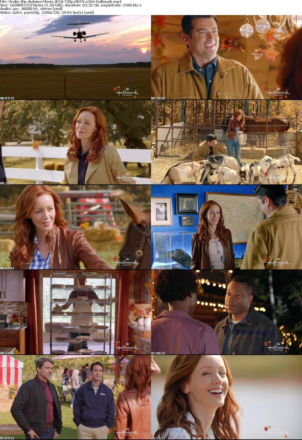 Under the Autumn Moon (2018) 720p HDTV x264-Hallmark