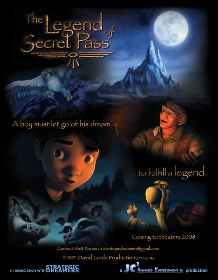 The Legend Of Secret Pass (2018) 1080p HDRip X264 AC3