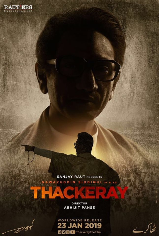 Thackeray 2019 Hindi Movies PDVDRip Clean Audio New Source with Sample