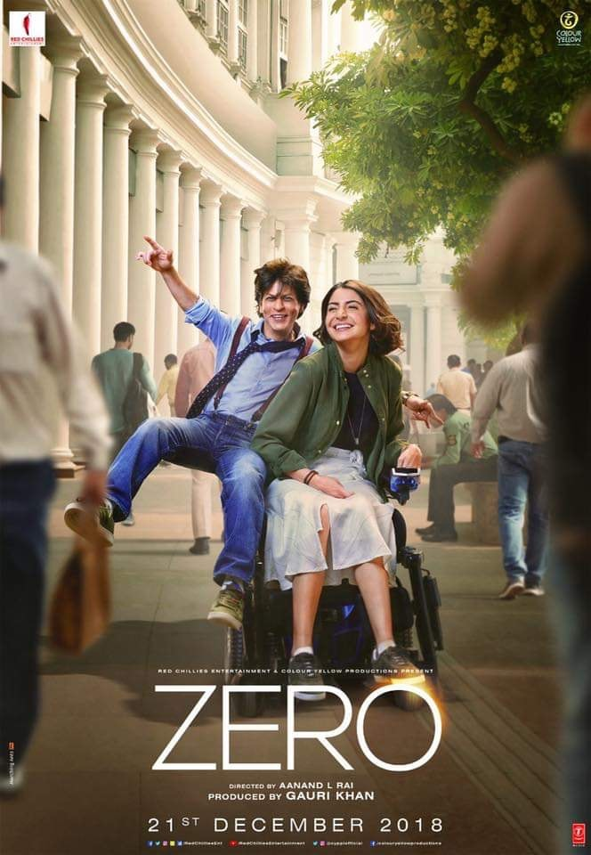 Zero 2018 720p Hindi (DD 5 1) HDRip x264 AC3 ESub by Full4movies