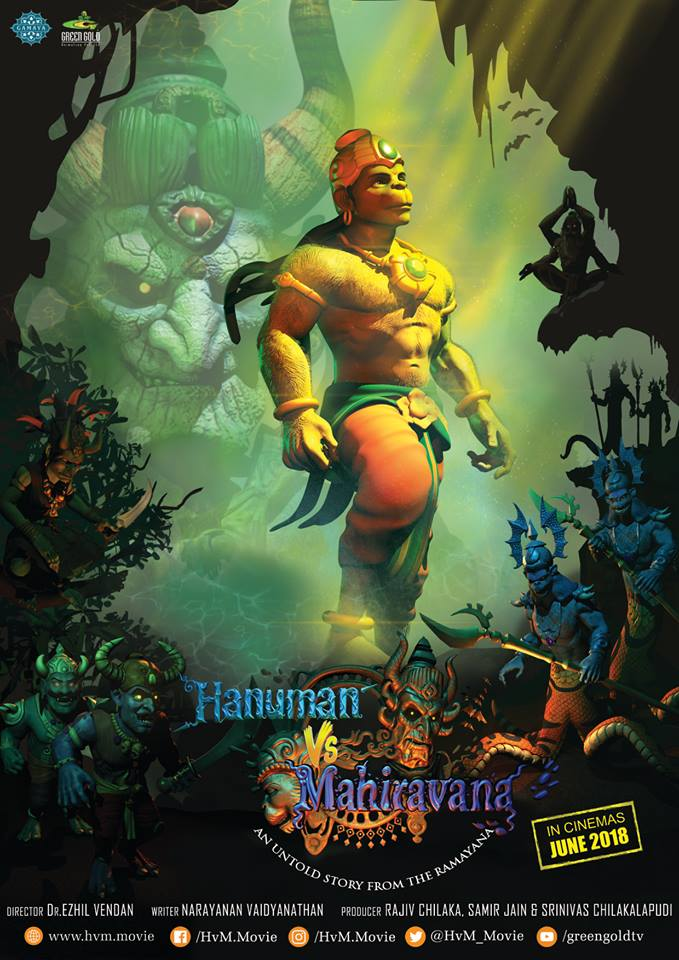 Hanuman Vs Mahiravana 2018 x264 720p HD Hindi GOPISAHI