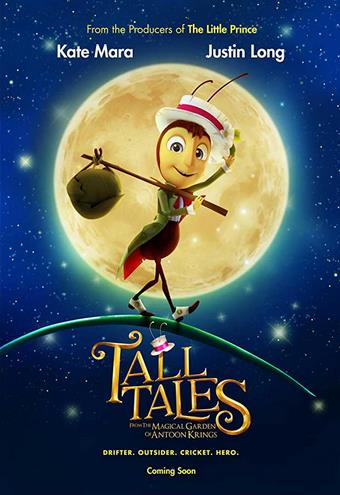 Tall Tales from the Magical Garden of Antoon Krings (2019) HDRip AC3 X264-CMRG