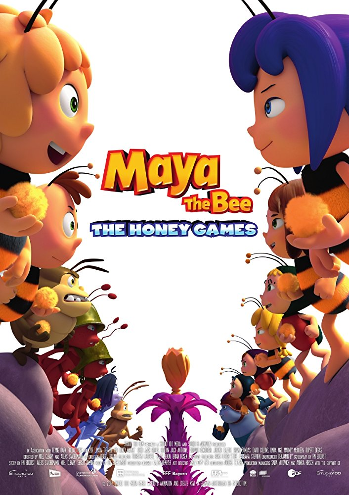 Maya the Bee The Honey Games 2018 720p BluRay x264-x0r