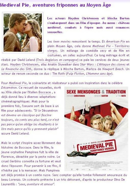 Médéval Pie (Film parodie) 4375742fd5df2af774036ce0af405baf4bde41e