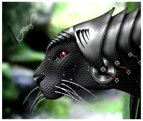 genial on Carbon Fiber Look