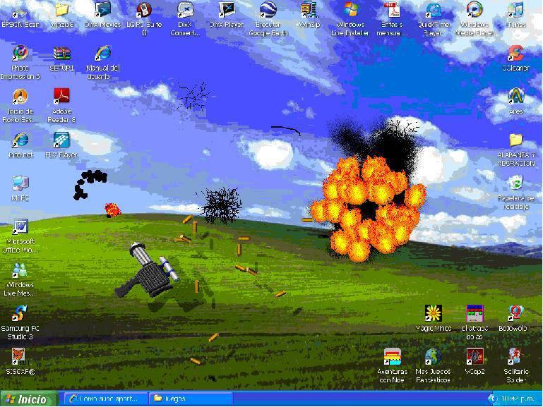 juego destructor pantalla: