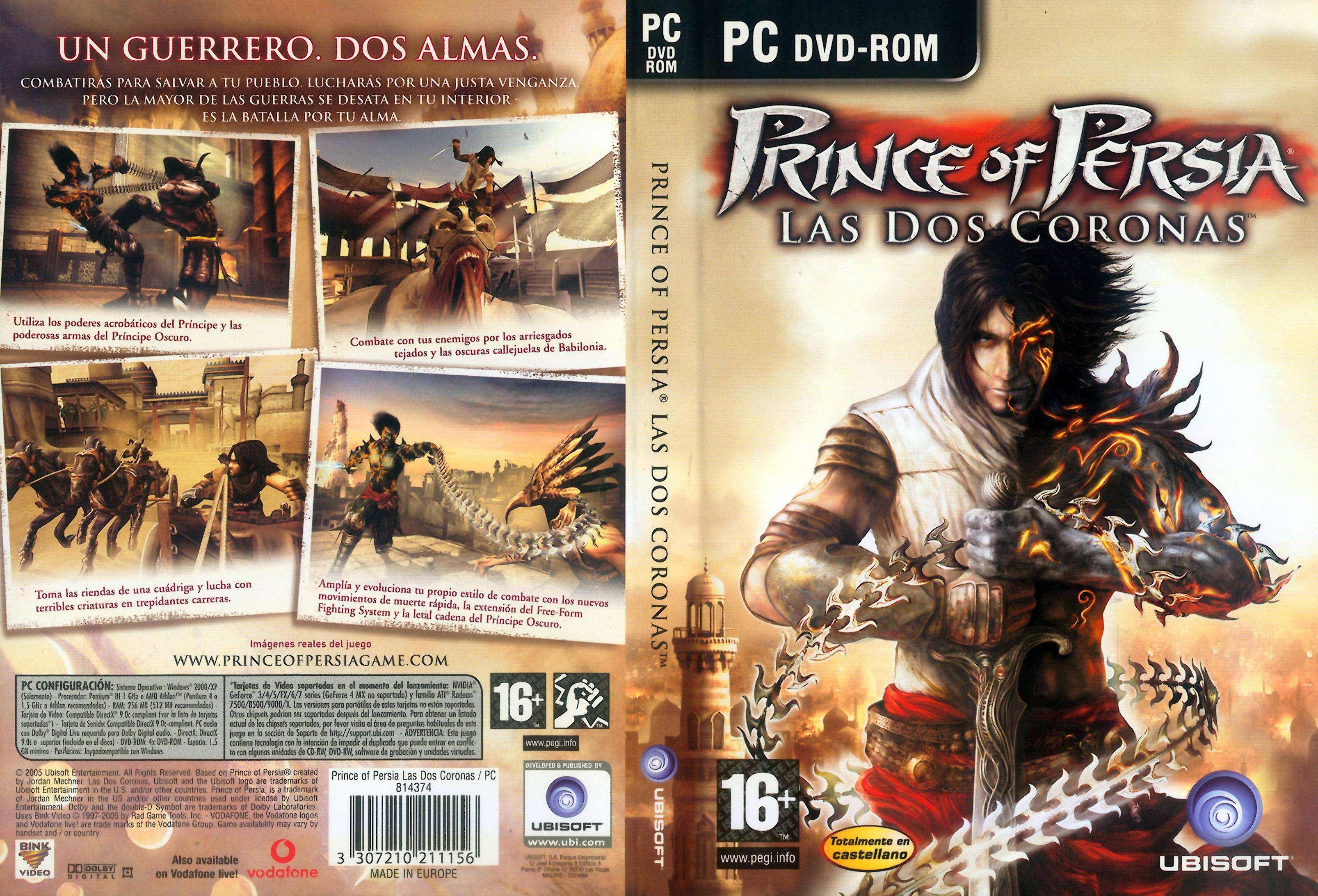 El Principe De Persia Y Las 2 Coronas