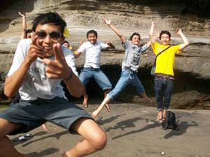 bali, mcdoans, jumping