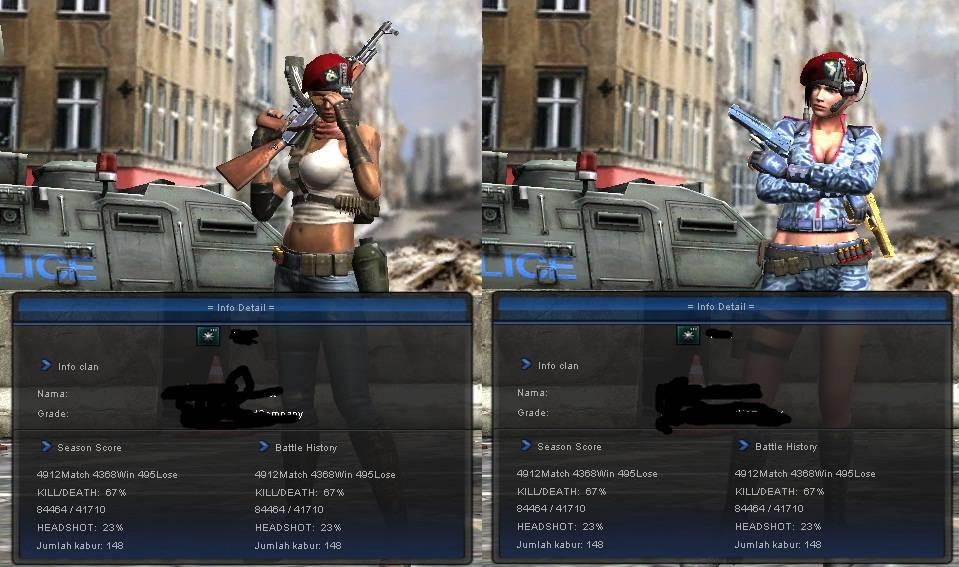 foto senjata point blank. Senjata Point ampir lengkap
