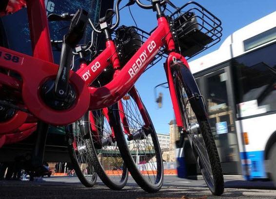 共享单车终于现身悉尼街头了: 租骑半小时费用$1.99