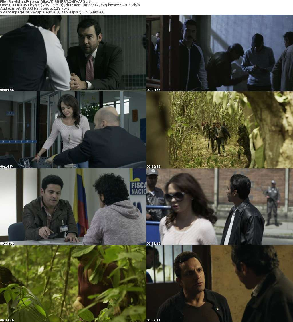 Surviving Escobar Alias JJ S01E35 XviD-AFG