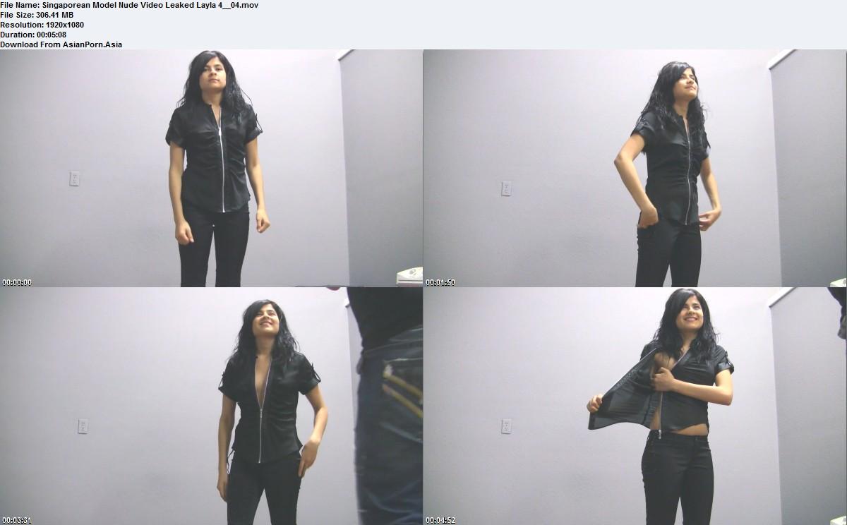Singaporean Model Nude Video Leaked Layla