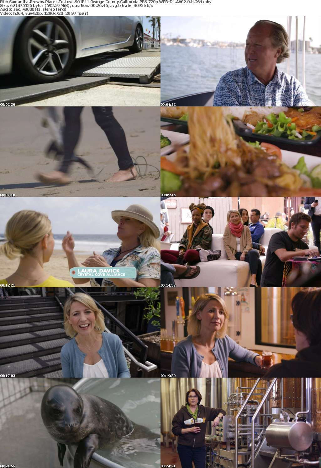 Samantha Browns Places To Love S01E11 Orange County California PBS 720p WEB-DL AAC2 0 H 264