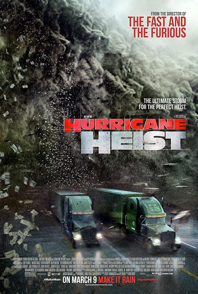 The Hurricane Heist 2018 720p HDRip X264 AC3-EVO