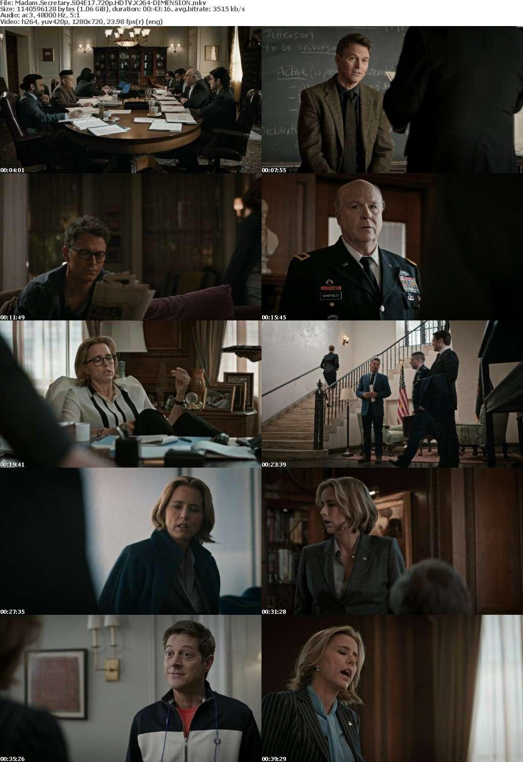 Madam Secretary S04E17 720p HDTV X264-DIMENSION