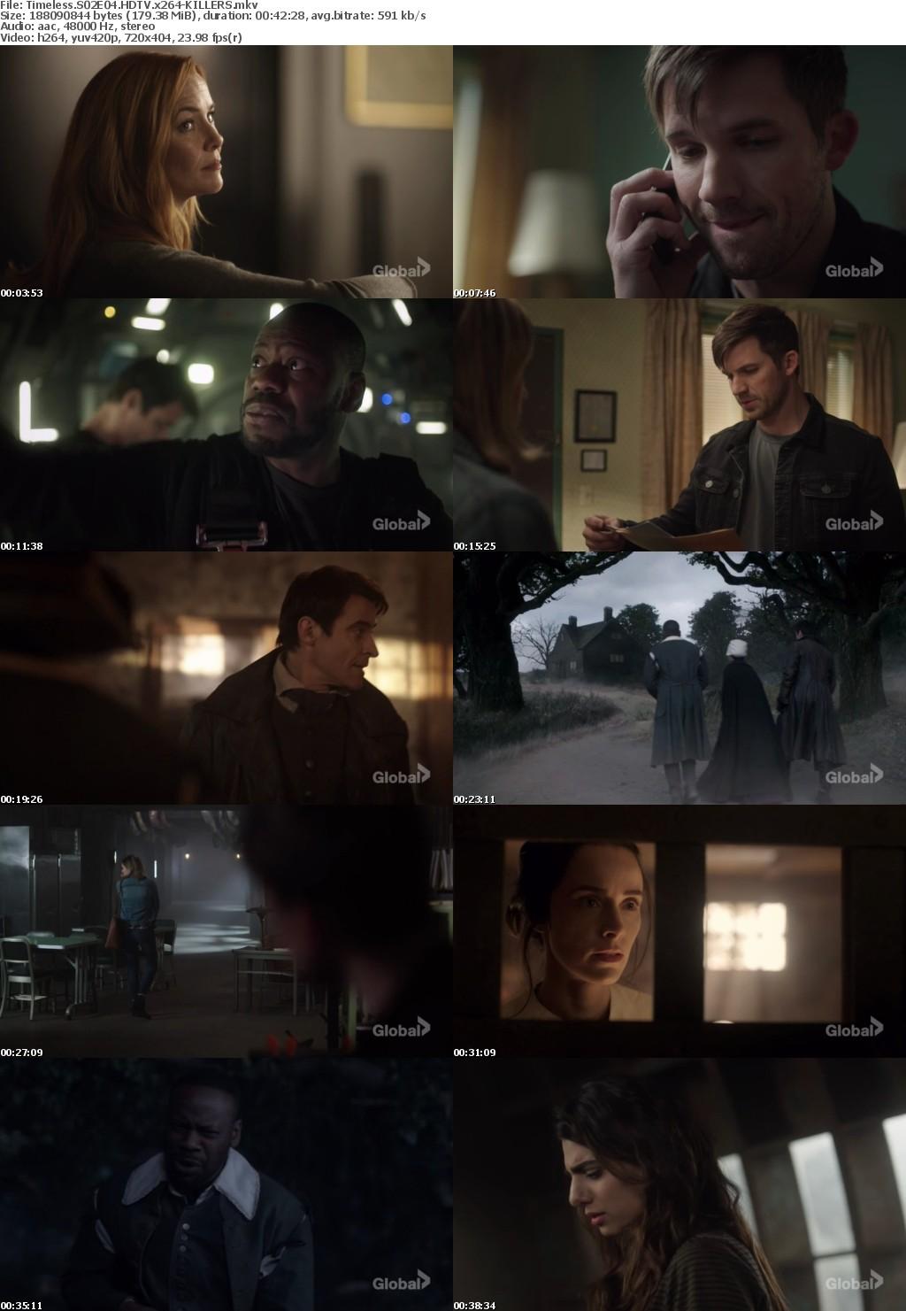 Timeless S02E04 HDTV x264-KILLERS