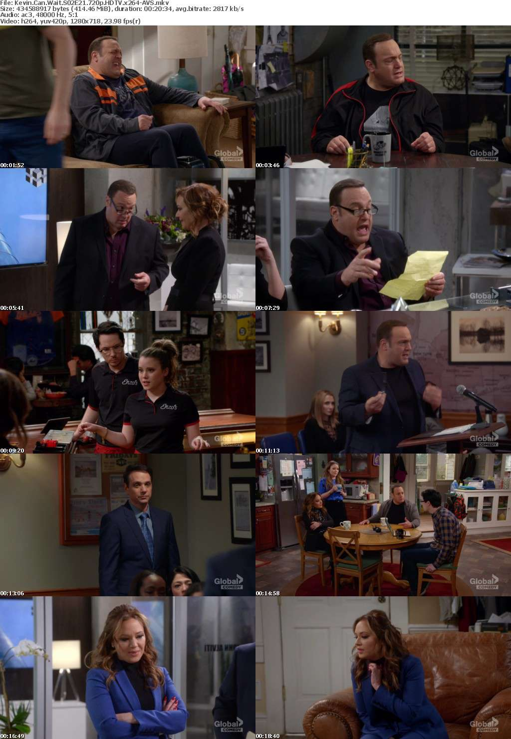 Kevin Can Wait S02E21 720p HDTV x264-AVS