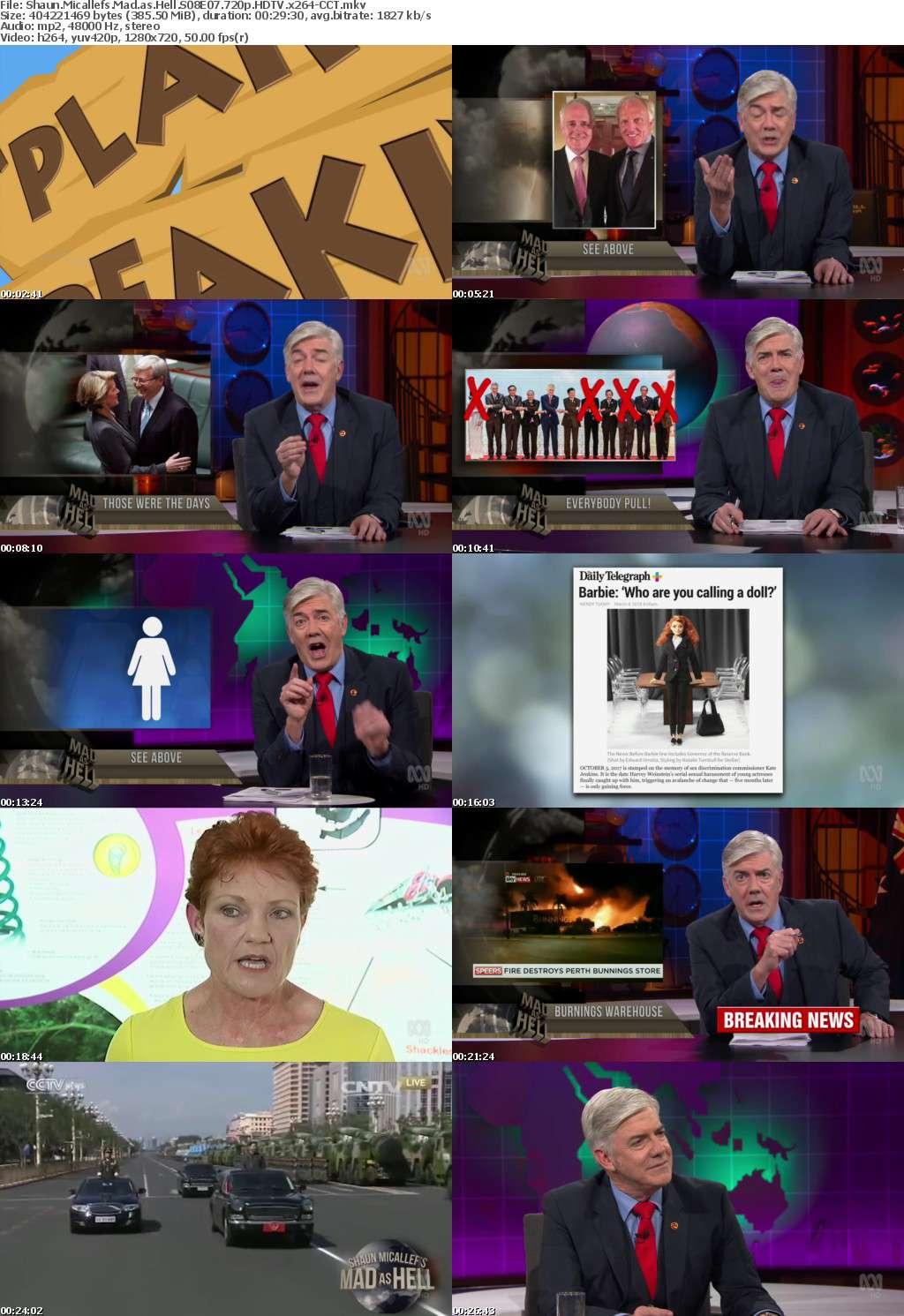 Shaun Micallefs Mad as Hell S08E07 720p HDTV x264-CCT
