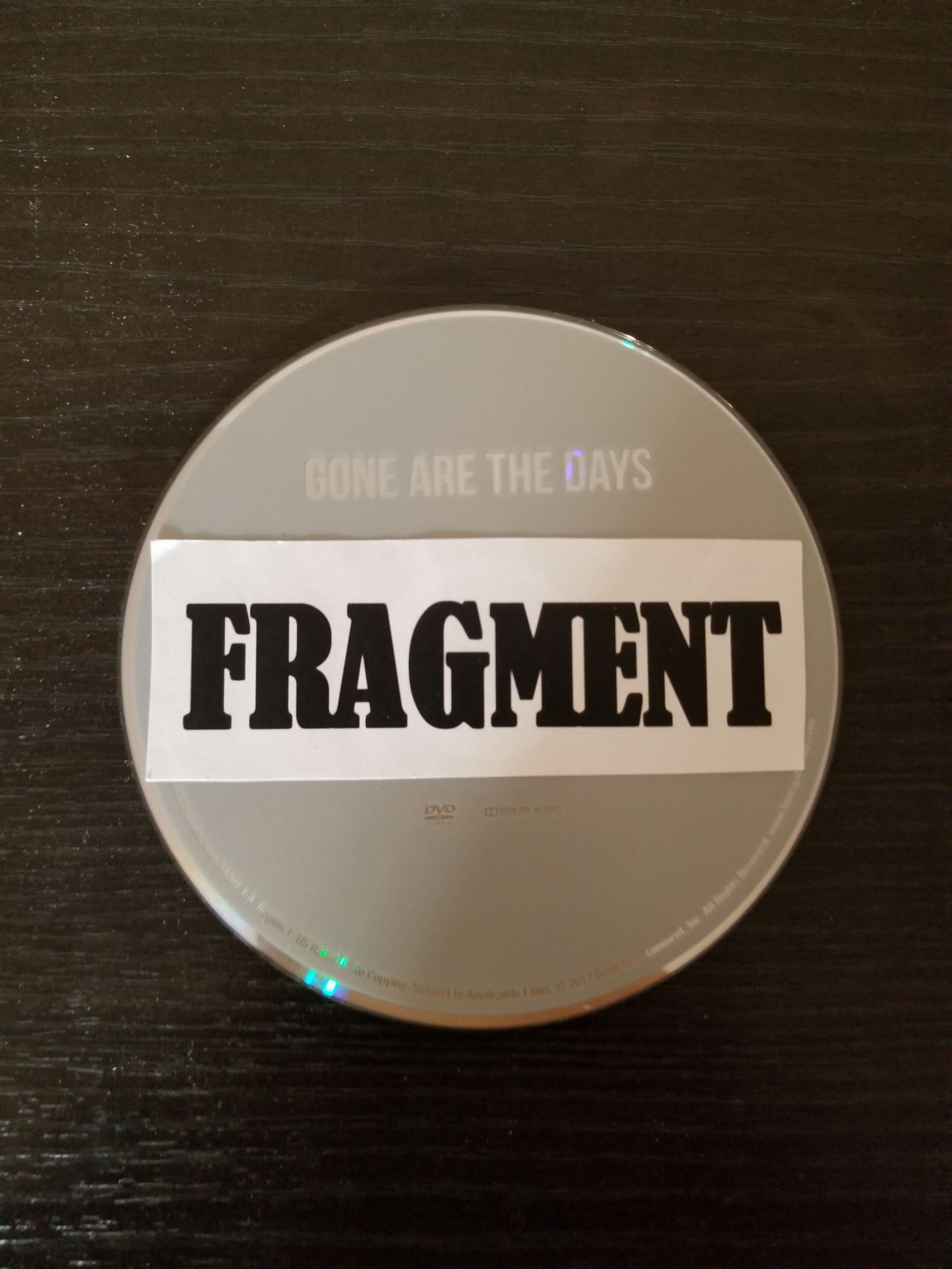Gone Are The Days 2018 DVDRip x264-FRAGMENT