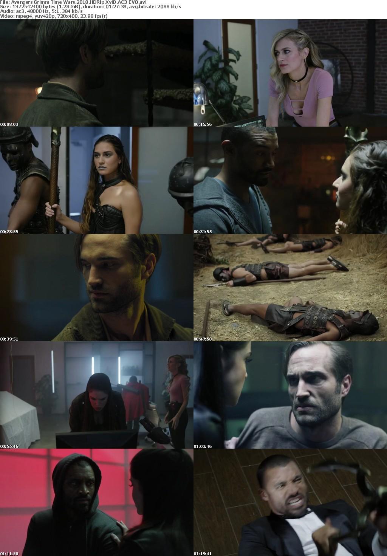 Avengers Grimm Time Wars (2018) HDRip XviD AC3-EVO