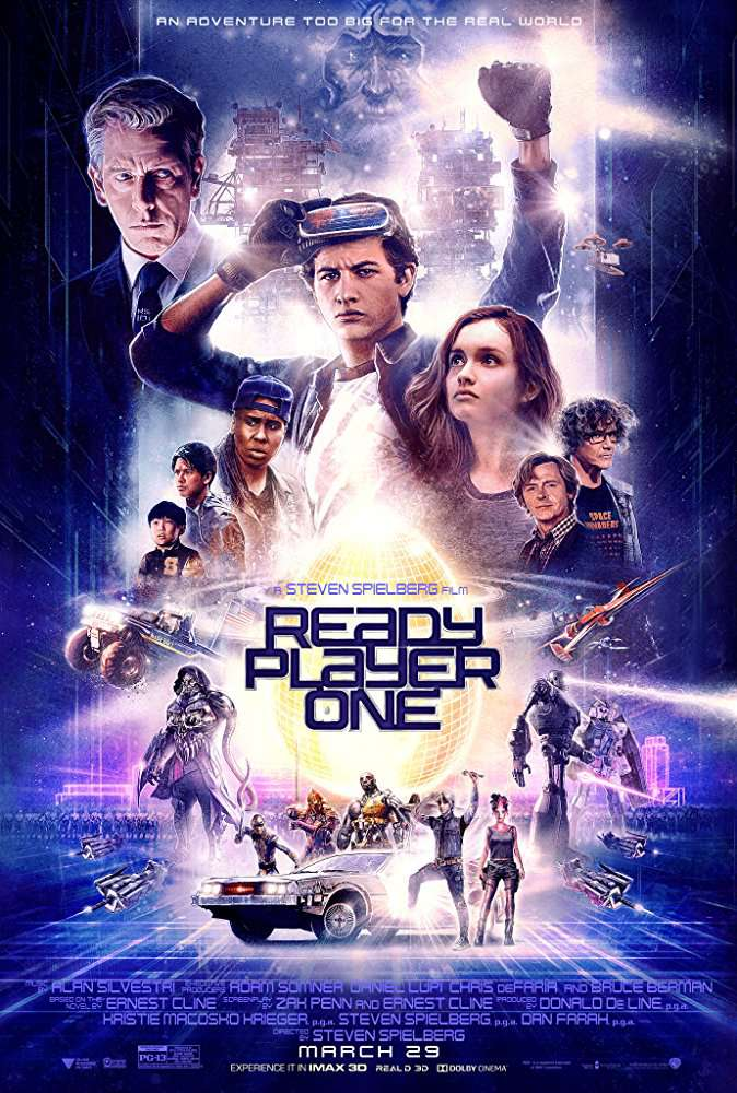 Ready Player One 2018 720p V2 HC HDRip X264 AC3-EVO