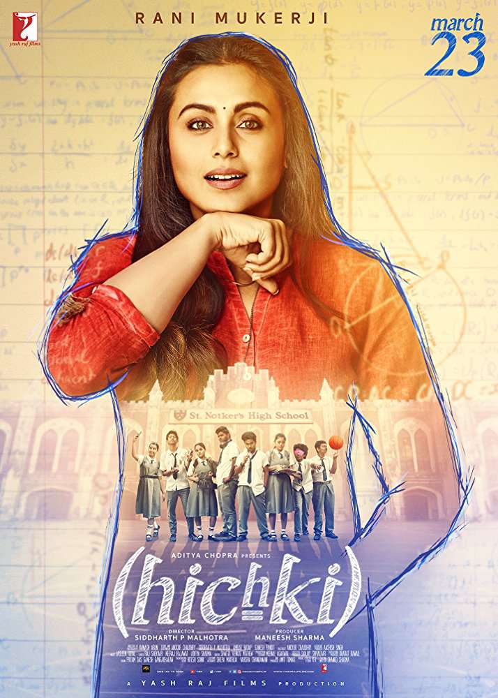 Hichki 2018 Hindi 1080p WEB-DL DD 5 1 x264 ESub MW