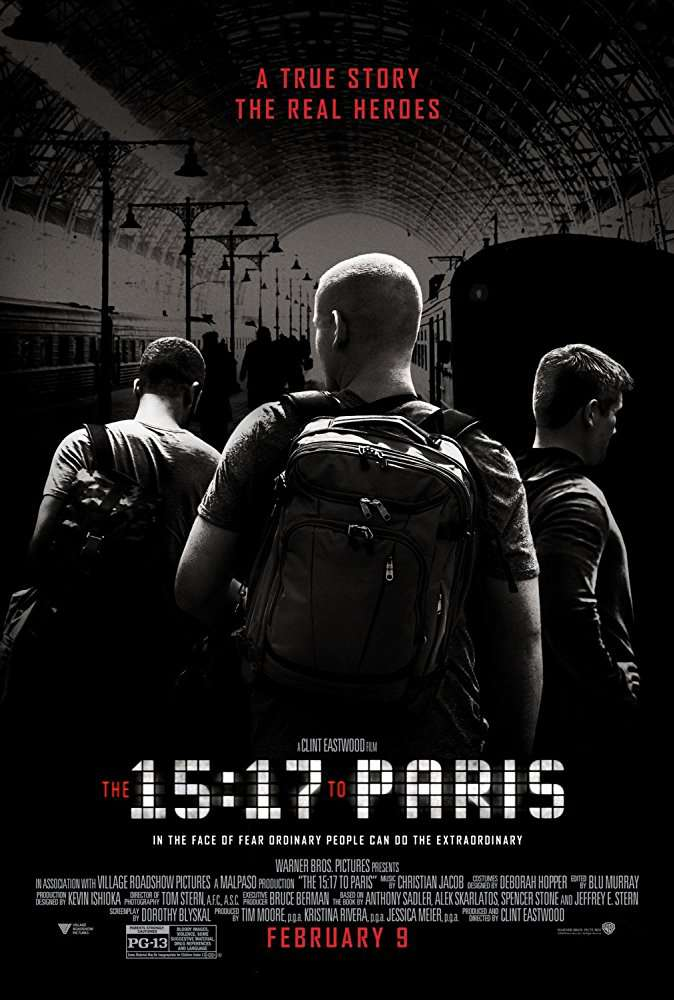 The 15 17 to Paris 2018 BRRip XviD AC3-EVO
