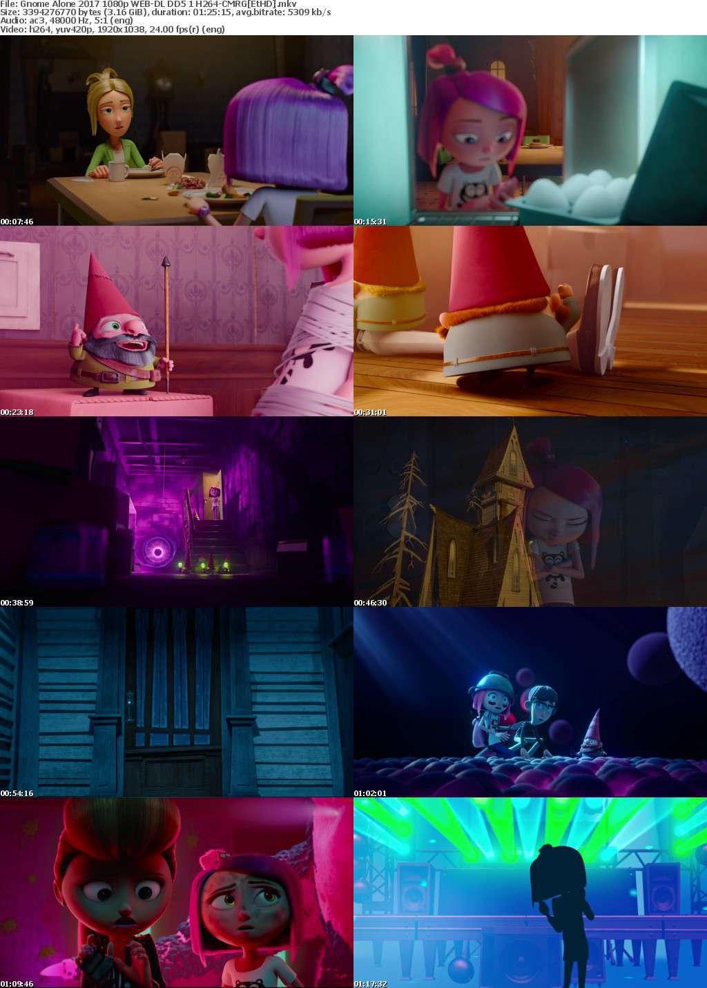 Gnome Alone (2017) 1080p WEB-DL DD5.1 H264-CMRG