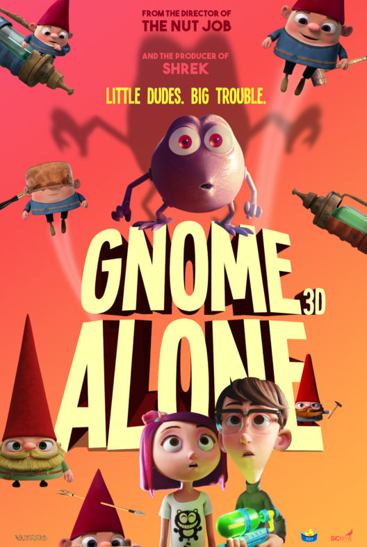 Gnome Alone (2017) HDRip XviD AC3-EVO