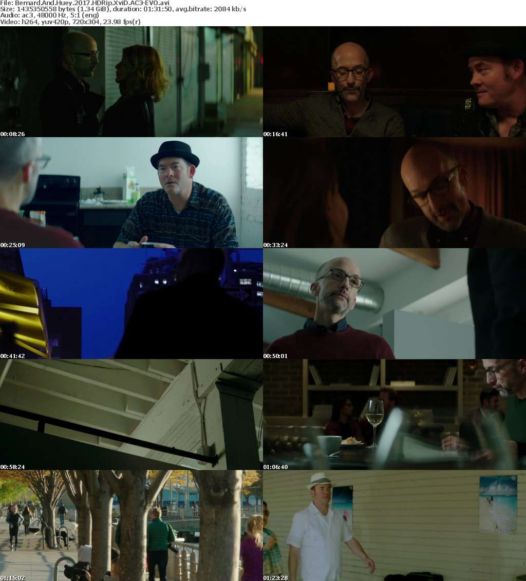 Bernard And Huey (2017) HDRip XviD AC3-EVO