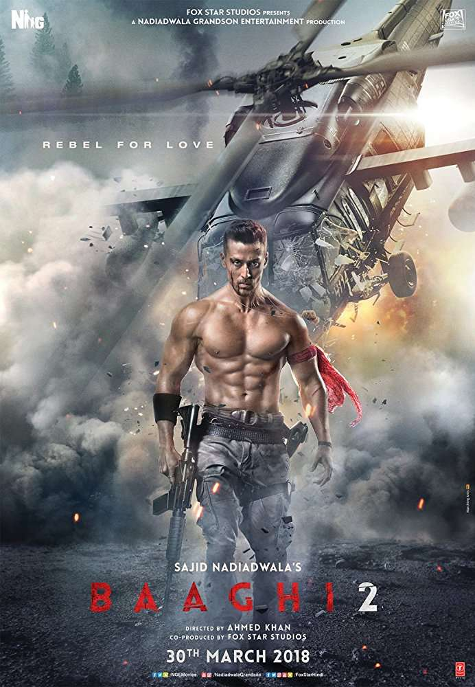 Baaghi 2 (2018) HINDI 720p UntoucheD WEB HD AVC AAC E-Subs-Movcr