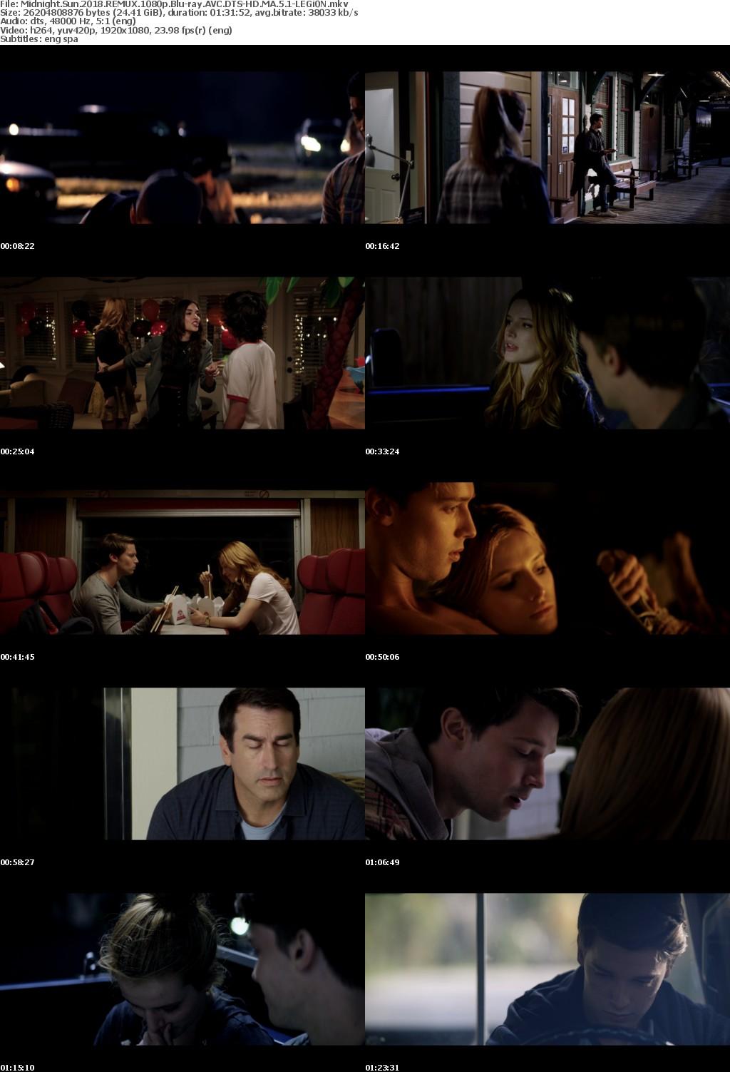 Midnight Sun 2018 REMUX 1080p Blu-ray AVC DTS-HD MA 5 1-LEGi0N