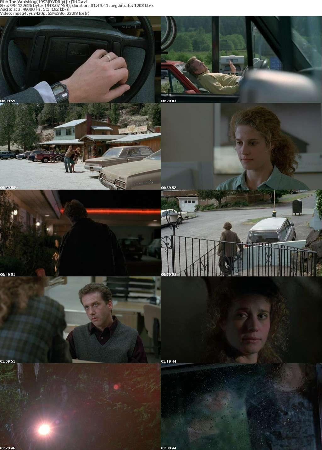 The Vanishing(1993)-DVDRIp Xvid-(jtr) *THC*