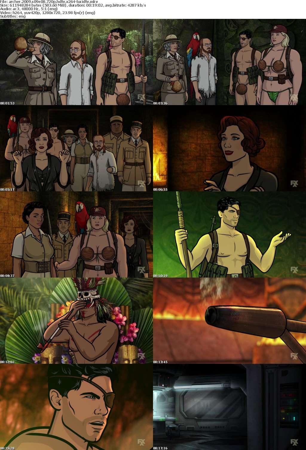Archer 2009 S09E08 720p HDTV x264-LucidTV