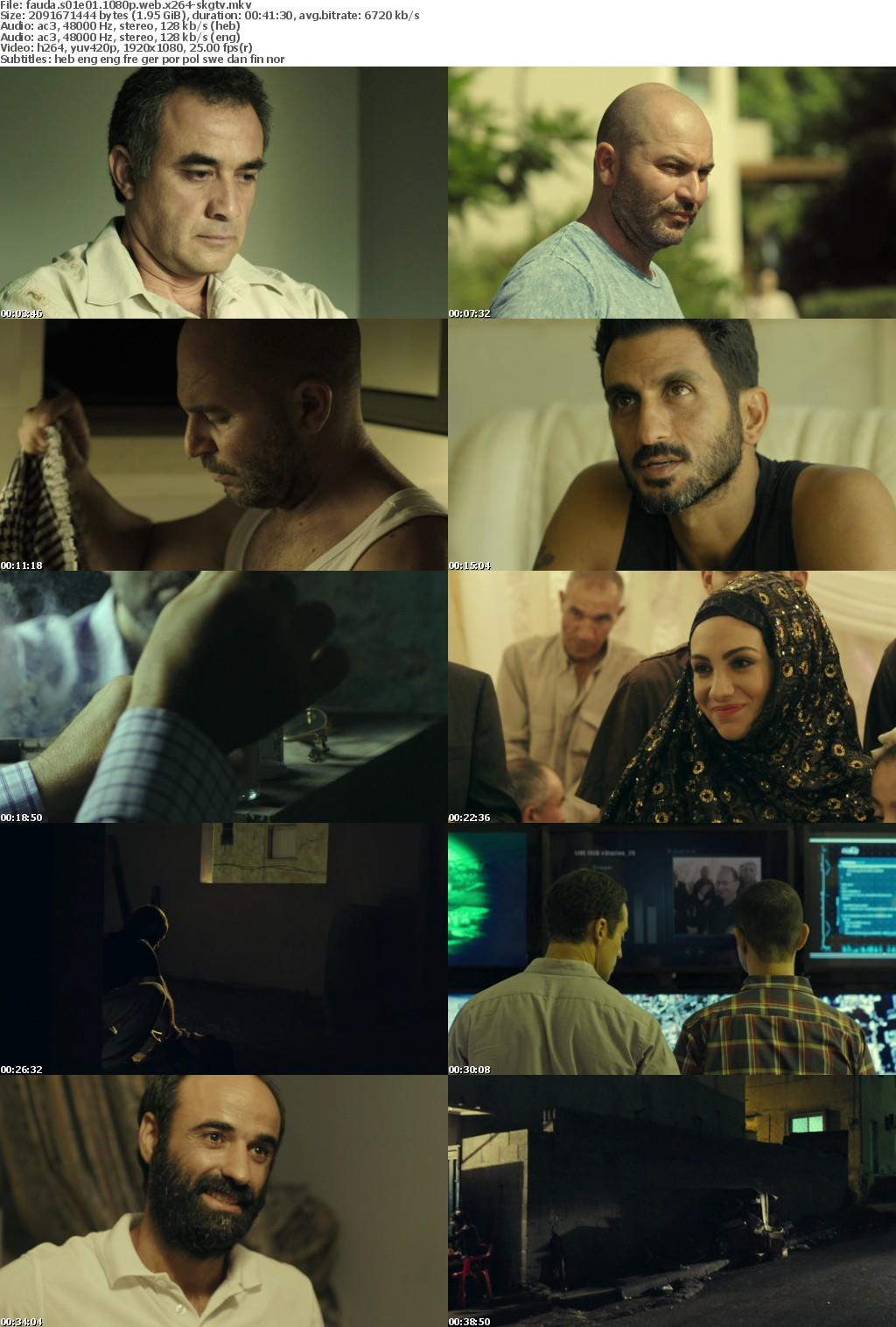 Fauda S01E01 1080p WEB x264-SKGTV