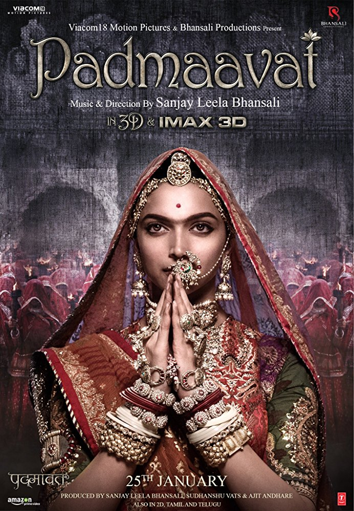 Padmaavat (2018) Hindi 720p BluRay x264 ESub MW