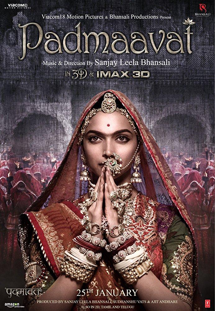 Padmaavat 2018 Hindi 1080p BluRay DD 5 1 x264 ESub MW