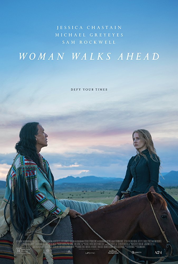 Woman Walks Ahead (2018) HDRip XviD AC3-EVO