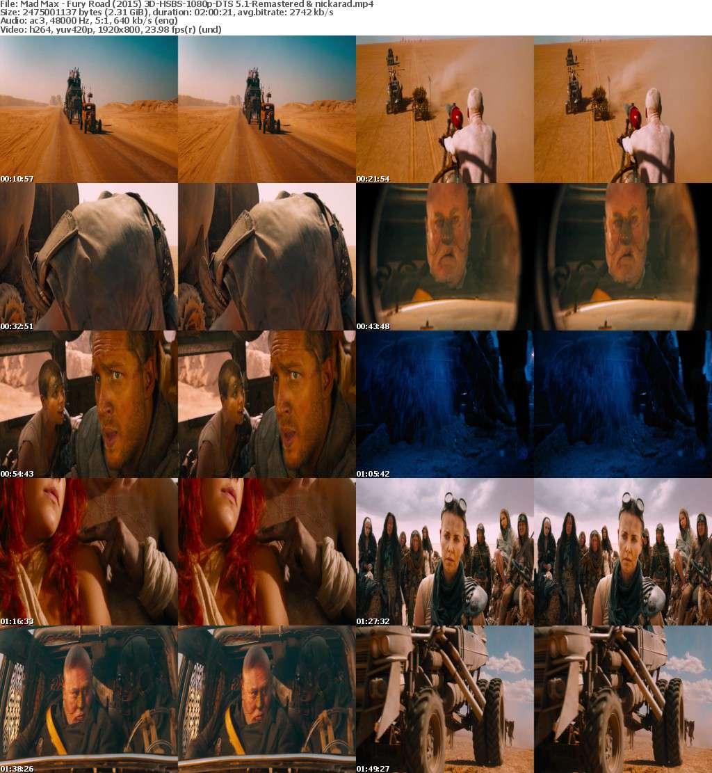 Mad Max Fury Road (2015) 3D HSBS 1080p BluRay AC3 Remastered-nickarad