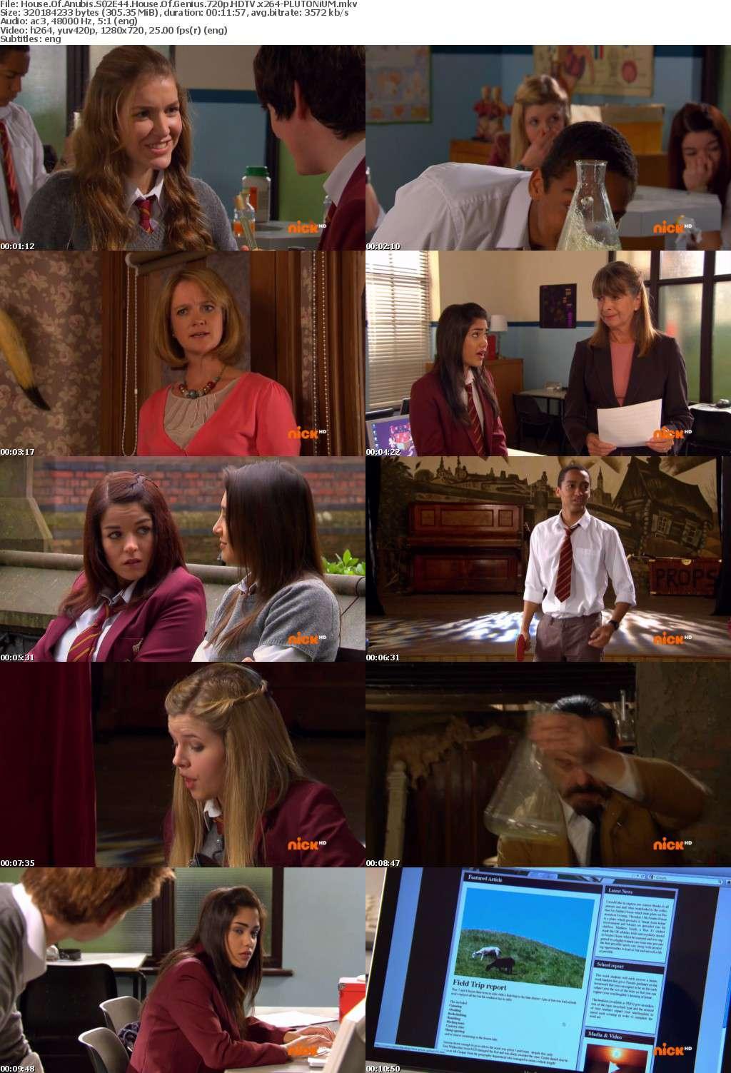 House Of Anubis S02E44 House Of Genius 720p HDTV x264-PLUTONiUM