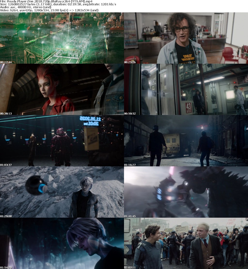 Ready Player One (2018) [BluRay] [720p] YIFY