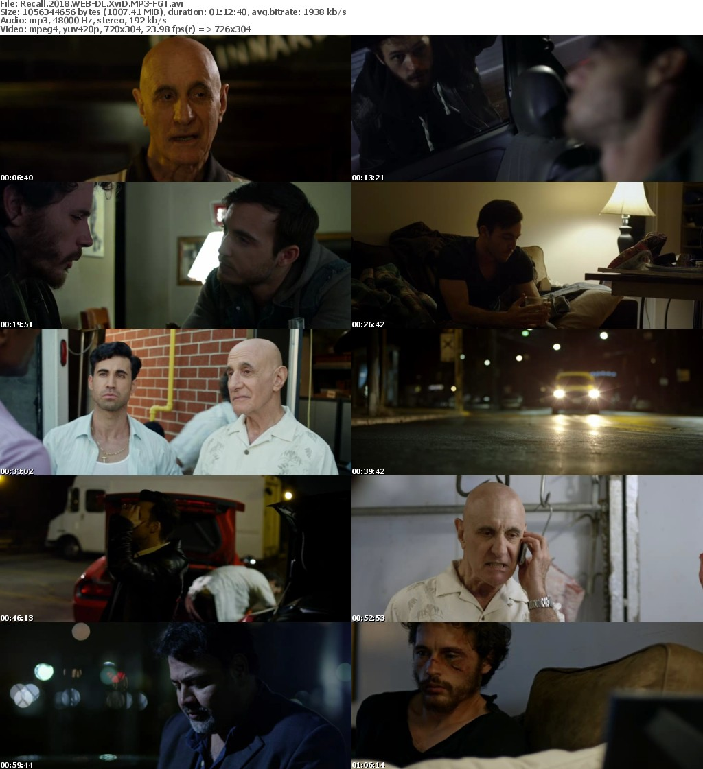 Recall 2018 WEB-DL XviD MP3-FGT
