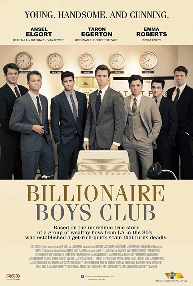 Billionaire Boys Club (2018) 720p WEB-HD 800 MB - iExTV