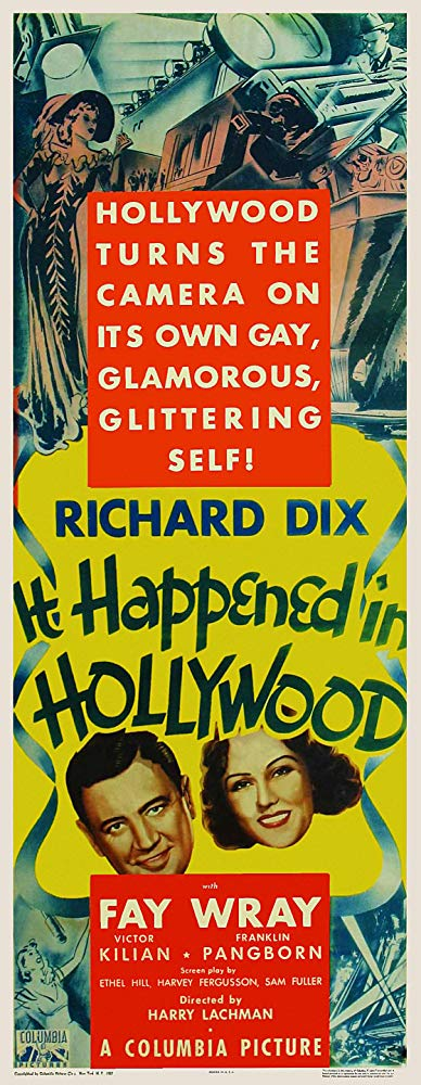 It Happened in Hollywood (1937) [BluRay] [720p] YIFY