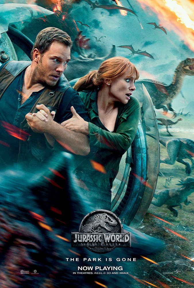 Jurassic World Fallen Kingdom 2018 HC HDRip XViD AC3 With Sample LLG