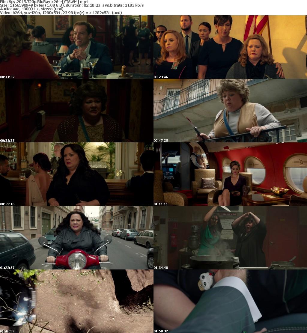 Spy (2015) [BluRay] [720p] YIFY