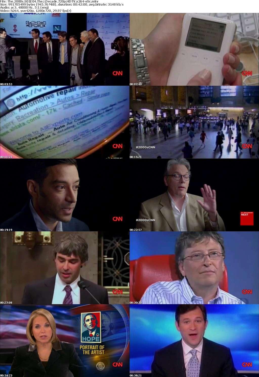 The 2000s S01E04 The i Decade 720p HDTV x264-eSc
